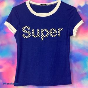 """Super"" Cute Graphic Tee"
